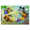 Disney characters placemat 3D
