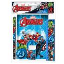 Avengers 5-częściowy zestaw papeterii