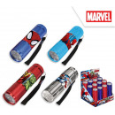 Spiderman led flashlight display