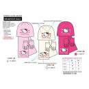 Hello Kitty kalap sállal és kesztyűvel