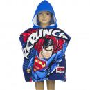 nagyker Ruha és kiegészítők: Superman poncsó kapucnival