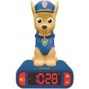 Paw Patrol Despertador con luz nocturna y sonidos