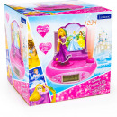 Princess Clock radio with projector and sound effe
