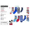 Mickey 3 pack zokni