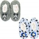 wholesale Shoes: Mickey Mouse slippers LBluee/ Grey