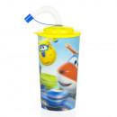 mayorista Artículos para el hogar: Super Wings botella de plástico 3D