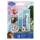 Frozen Disney 4 pieces erasers
