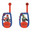 mayorista Mobiliario y accesorios oficina y comercio: Walkie-talkies digitales de Super Mario con luz mo