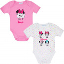 Minnie Mouse 2 pack baby romper