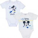 Mickey 2 pack baby romper