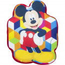 Mickey Mouse Cushion Shaped Velour