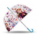 frozenDisney paraply transparent