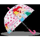 wholesale Umbrellas: Princess umbrella transparent 19 '