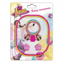 Soy Luna hair accessories set