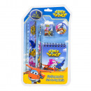 Super Wings 5 piece stationery set