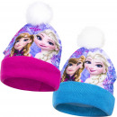 Frozen Disney hats with pompon Anna & Elsa