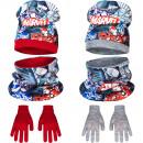 Avengers sombrero de cuello alto y guantes