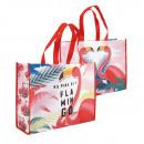 mayorista Maletas y articulos de viaje:Shopper 35 cm Flamingo