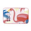 carpet / mat Fleece Flamingo