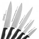 GOURMETmaxx set de couteaux diamant 5 pièces