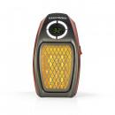 EASYmaxx mini heater 500W black / red