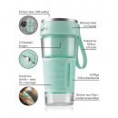 MAXXMEE Smoothie Maker 300ml 7.4V menthe
