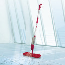 CLEANmaxx spray mop flexible rouge