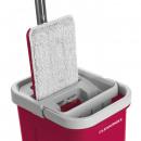 CLEANmaxx Comfort Mop 5,7l rouge / gris