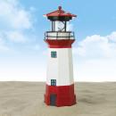 EASYmaxx lampa solarna latarnia 1,2V czerwono-biał
