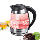 wholesale DVD & TV & Accessories: GOURMETmaxx glass kettle LED / temperature selecti