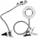 wholesale Jewelry & Watches: 24 led cosmetic desk lamp with clip-on clip