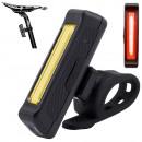 Lampe arrière de vélo USB Lampe torche LED 500lm