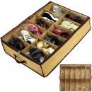 Großhandel Haushalt & Küche: Box Schuh Organizer 12 Paar Abdeckung