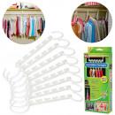 wholesale Household & Kitchen: Wardrobe organizer for clothes hangers 8 pcs
