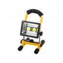 Lampe halogène portable 2 piles rechargeables LED