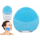 Sonic facial brush for cleaning the face