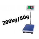 Electronic warehouse store weight 200kg / 50g