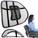 Coussin de dossier avec massage sur fauteuil