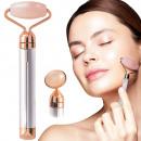 mayorista Salud y Cosmetica: Masajeador facial vibratorio de cuarzo eléctrico