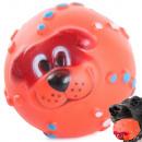 Jouet pour chien en caoutchouc de couleur de boule