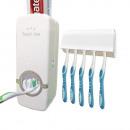 Dozownik pasty do zębów uchwyt na szczoteczki