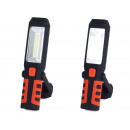 Workshop lamp led cob 3in1 rechargeable battery