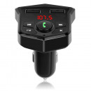 wholesale Car accessories: FM transmitter sd mp3 bluetooth charger 2xusb lcd