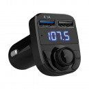 mayorista Accesorios para automóviles: Transmisor FM sd mp3 bluetooth cargador 2xusb