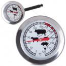 Fumoir à thermomètre à viande pour la cuisson du j