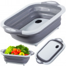 wholesale Household & Kitchen: Silicone bowl with stopper sink cutting board