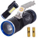 Lampe de poche Bailong XM-L T6 Police Cree Searchl