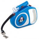 hurtownia Artykuly zoologiczne: Smycz dla psa automatyczna blokada latarka 5m ...
