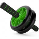 Rullo per esercizi a doppia ruota Rullo + tappetin
