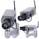 Caméra factice réaliste avec diode LED